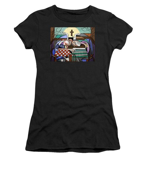 Thank You Jesus When Two Or More Are Gathered Women's T-Shirt