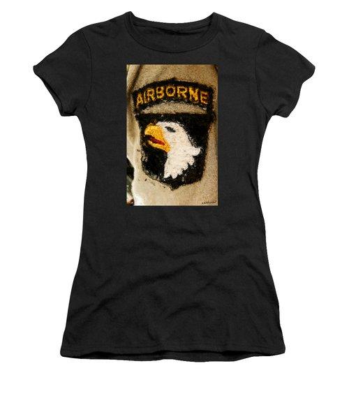 The 101st Airborne Emblem Painting Women's T-Shirt