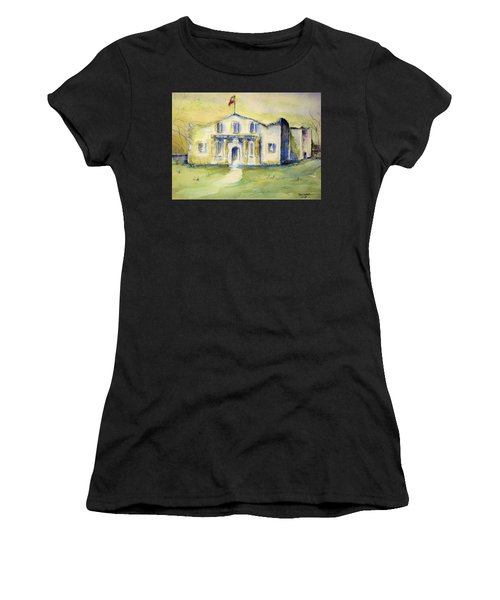 The Alamo  Women's T-Shirt (Athletic Fit)