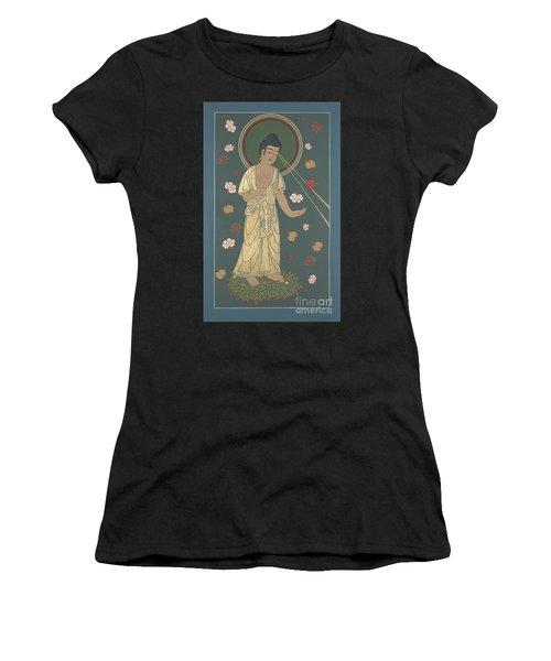 The Amitabha Buddha Descending 247 Women's T-Shirt (Junior Cut) by William Hart McNichols