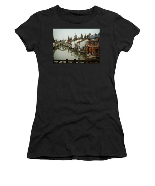 The Asian Venice  Women's T-Shirt (Junior Cut) by Lucinda Walter
