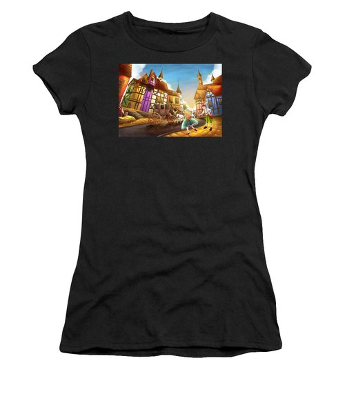 The Bavarian Village Women's T-Shirt