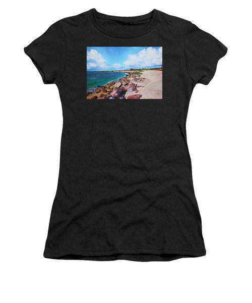 The Beach At Ponce Inlet Women's T-Shirt