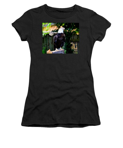 Women's T-Shirt (Junior Cut) featuring the photograph The Beauty Of Freedom by Deena Stoddard