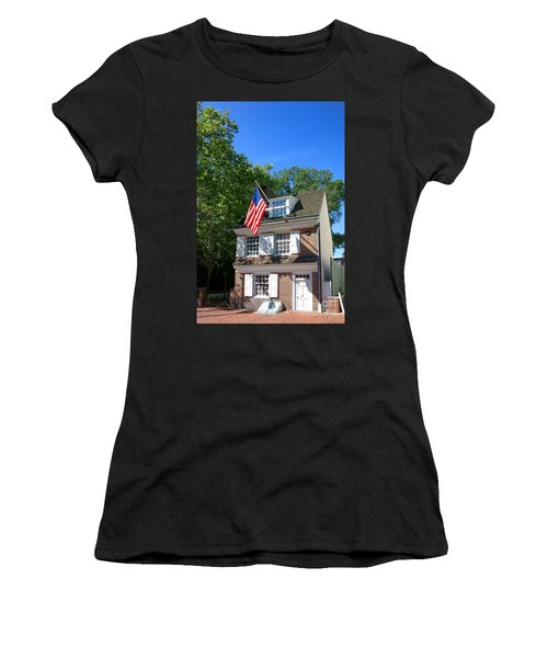 The Betsy Ross House Women's T-Shirt