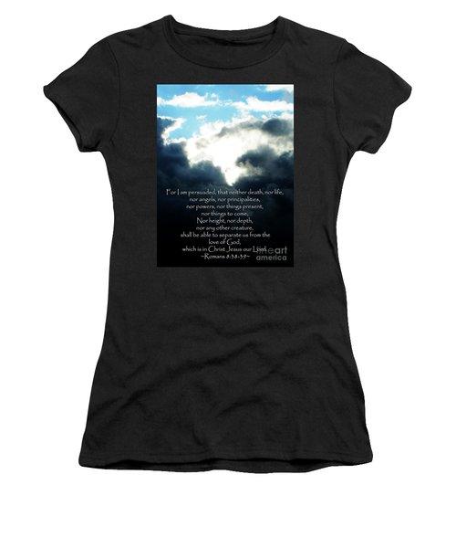 The Bible Romans 8 Women's T-Shirt (Athletic Fit)