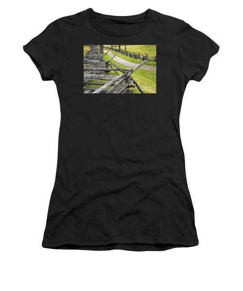 The Bloody Lane At Antietam Women's T-Shirt