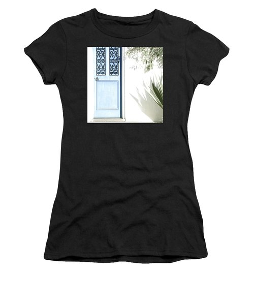 The Blue Door Women's T-Shirt (Athletic Fit)