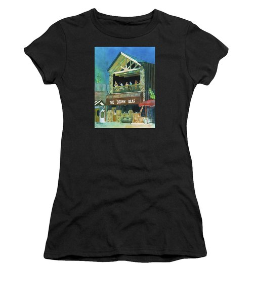 The Brown Bear Women's T-Shirt (Athletic Fit)