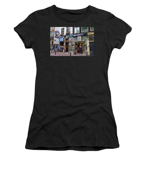 The Bulldog Coffee Shop - Amsterdam Women's T-Shirt (Athletic Fit)