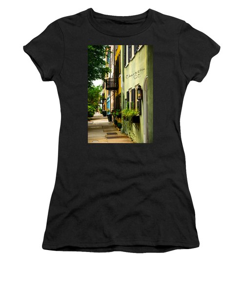 The Charm Of Charleston Women's T-Shirt (Athletic Fit)