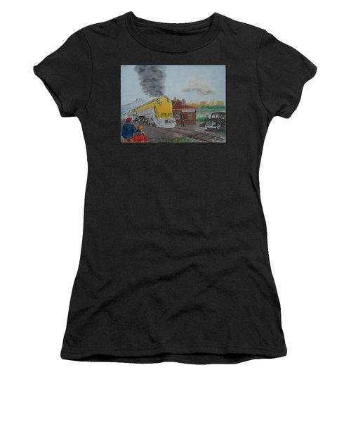 The Chesapeake And Ohio George Washington At South Portsmouth Station Women's T-Shirt