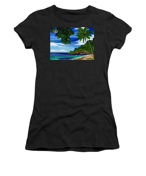 The Coconut Tree Women's T-Shirt (Athletic Fit)