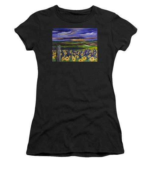 The Colors Of The Plateau Women's T-Shirt (Athletic Fit)