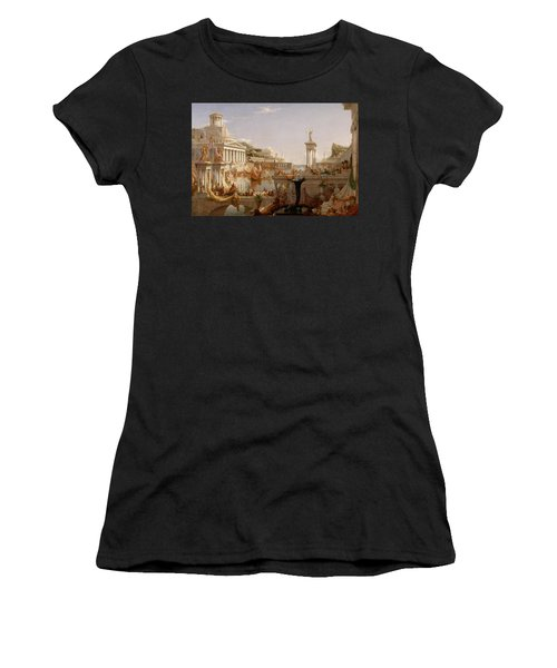 The Course Of Empire Consummation  Women's T-Shirt