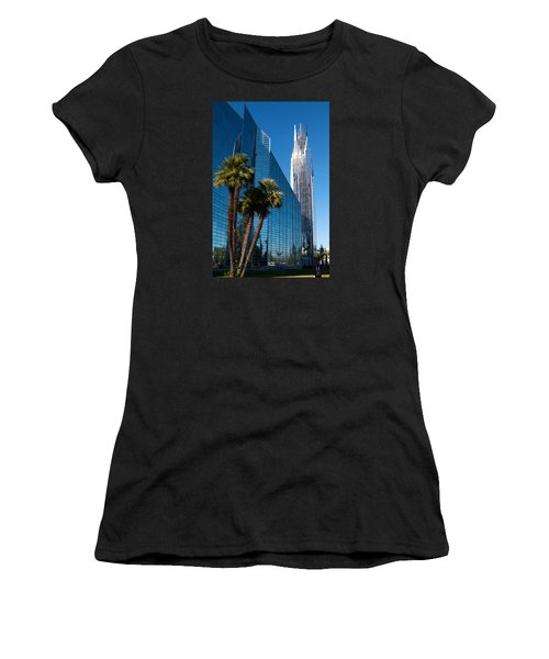 The Crystal Cathedral  Women's T-Shirt (Athletic Fit)