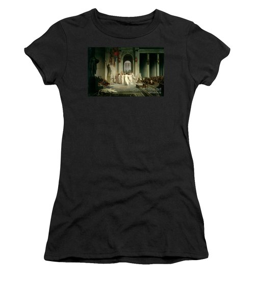 The Death Of Caesar Women's T-Shirt