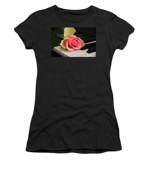 The Delicate Rose Women's T-Shirt