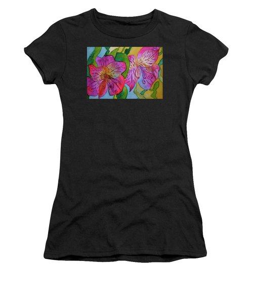 The Electric Kool-aid Alstroemeria Test Women's T-Shirt