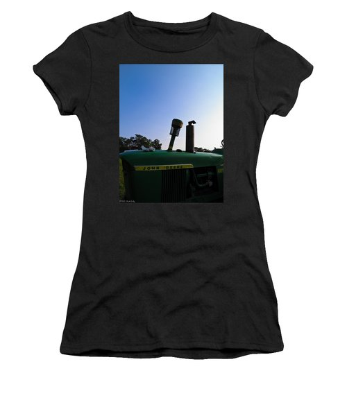 The End Of A Long Day Women's T-Shirt (Junior Cut) by Nick Kirby
