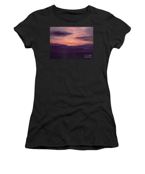 The End Of A Perfect Day Women's T-Shirt (Athletic Fit)