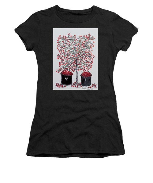 The Famous Door County Cherry Tree Women's T-Shirt