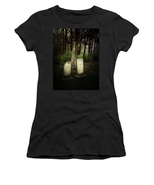 The Final Resting Place Of Ambros And Brazilla Ivins Women's T-Shirt (Athletic Fit)