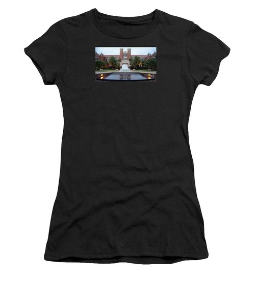 The Florida State University Women's T-Shirt (Junior Cut) by Paul  Wilford