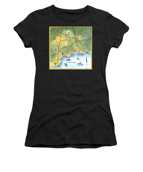 The Forgotten Coast St. Marks Women's T-Shirt (Athletic Fit)
