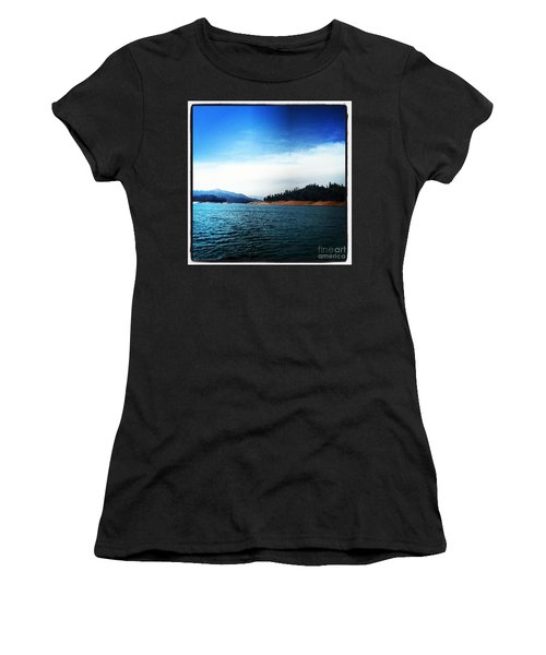 Women's T-Shirt (Junior Cut) featuring the photograph The Getaway by Luther Fine Art