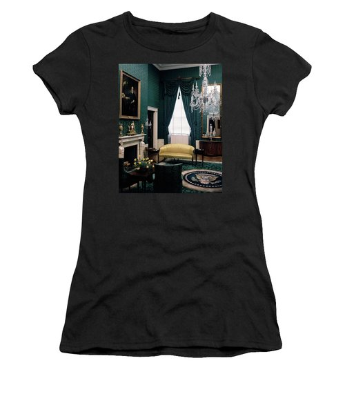 The Green Room In The White House Women's T-Shirt