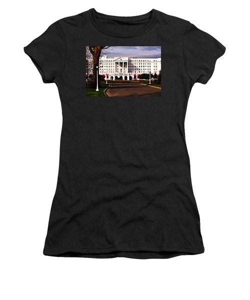 The Greenbrier Resort Women's T-Shirt