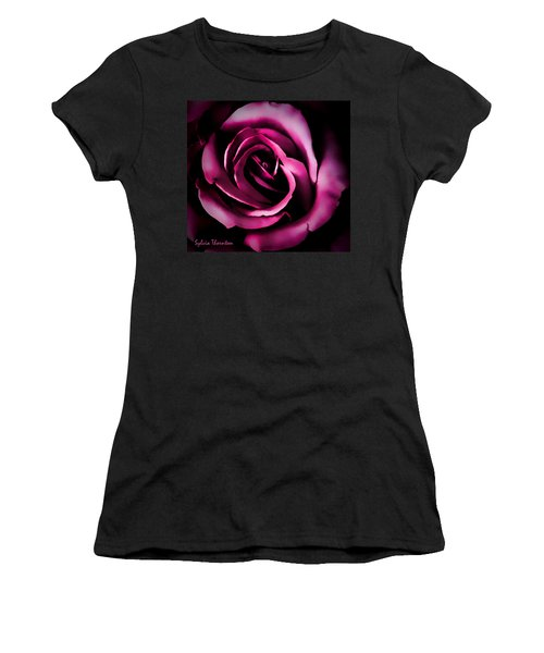 The Heart Of A Rose Women's T-Shirt (Athletic Fit)