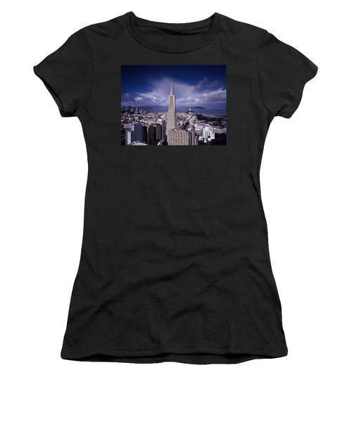 The Heart Of San Francisco Women's T-Shirt (Athletic Fit)