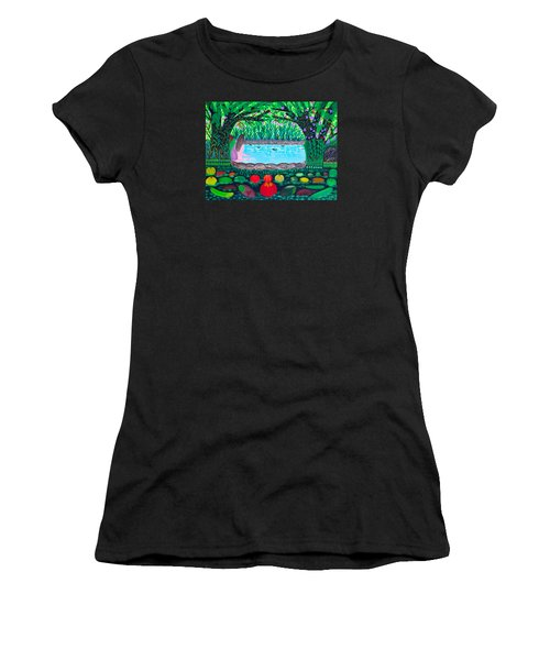 The Hidden Water Women's T-Shirt (Athletic Fit)
