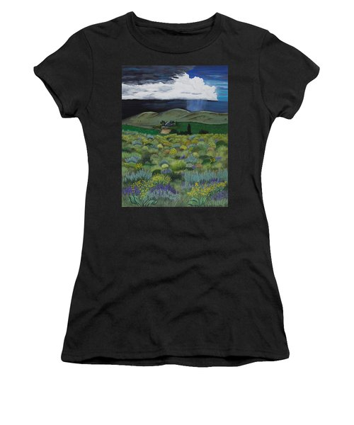 The High Desert Storm Women's T-Shirt (Athletic Fit)