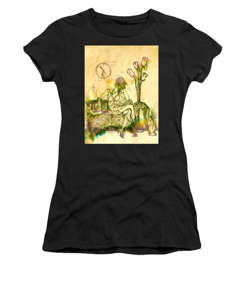 The Hold Up Sepia Tone Women's T-Shirt