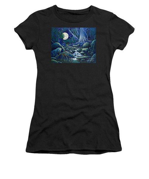 The Hunt For The Wolfman Women's T-Shirt (Athletic Fit)