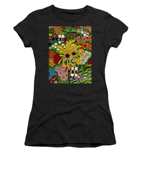 The Hunter Women's T-Shirt (Junior Cut) by Rojax Art