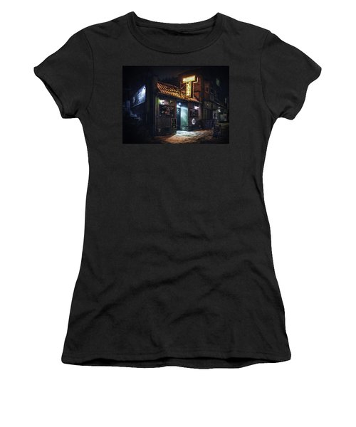 The Jazz Estate Nightclub Women's T-Shirt