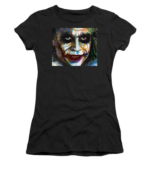 The Joker - Ledger Women's T-Shirt (Athletic Fit)