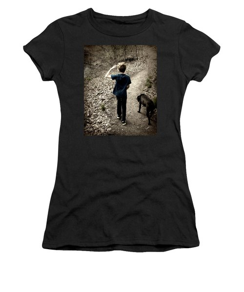 The Journey Together Women's T-Shirt (Junior Cut) by Bruce Carpenter