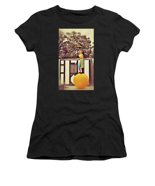 The Juggler Women's T-Shirt (Athletic Fit)