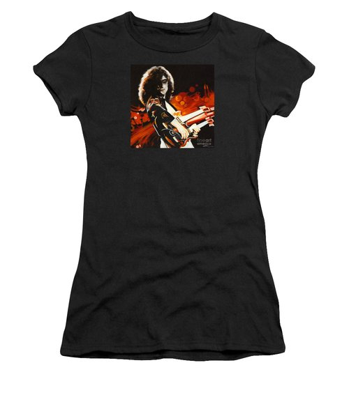 Stairway To Heaven. Jimmy Page  Women's T-Shirt