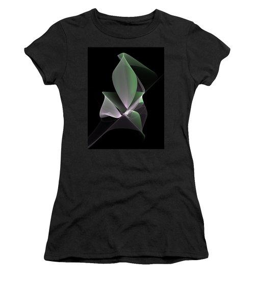 Women's T-Shirt (Junior Cut) featuring the digital art The Light Inside by Gabiw Art