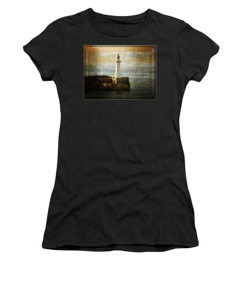 The Lighthouse Women's T-Shirt (Junior Cut) by Lucinda Walter