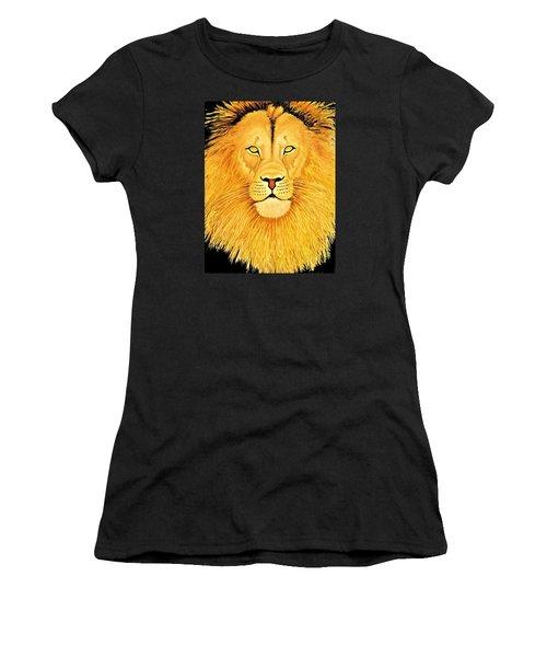 The Lion Women's T-Shirt (Athletic Fit)