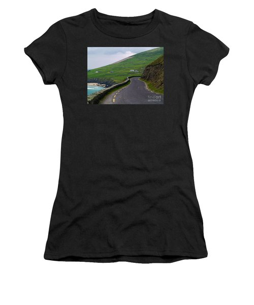 The Long And Winding Road Women's T-Shirt
