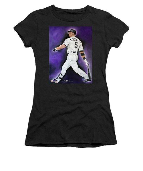 Carlos Gonzales Women's T-Shirt (Athletic Fit)