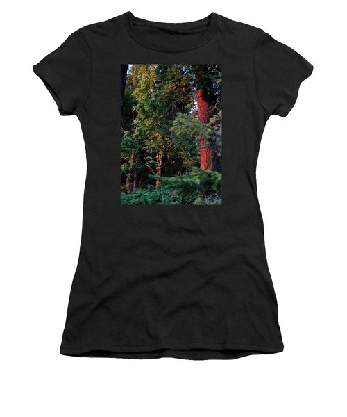 Women's T-Shirt (Junior Cut) featuring the photograph The Magic Hour by Natalie Ortiz